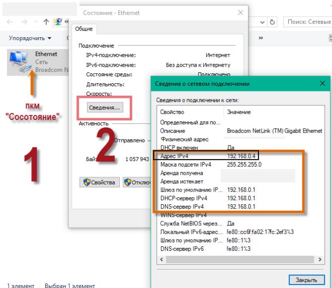 сетевой адрес IPv4